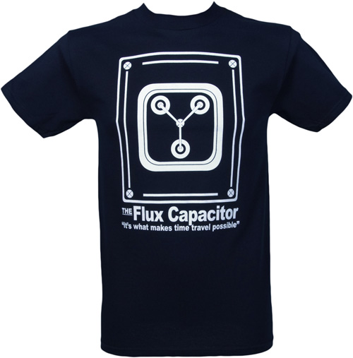 Back to the Future Flux Capacitor Men's T Shirt from American Classics - £19.99