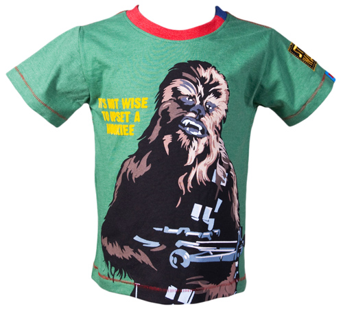 Kids Wookie Star Wars T-Shirt from Fabric Flavours £16.00 +FREE P&P