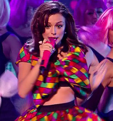 Cher Lloyd Wears Our Iced Gem Ring from Bits and Bows £6.99